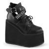 SWING-05 Black Vegan Leather
